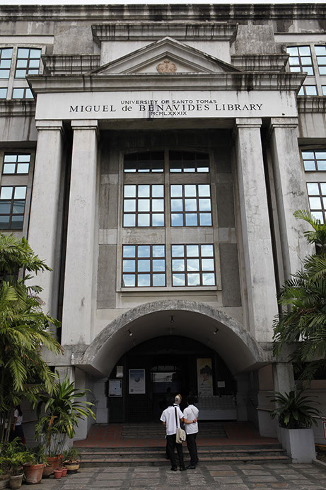 Private Library Study Rooms: Miguel De Benavides Library